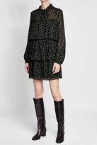 Vanessa Seward Printed Wool Dress