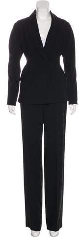 Tie-Front High-Rise Pantsuit