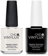 CND Creative Nail Design Vinylux Studio White Nail Polish & Top Coat (Two Items), 0.5-oz, from Purebeauty Salon & Spa