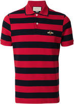 Gucci bee patch polo shirt