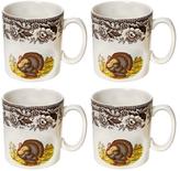 Spode Woodland Turkey Mugs (Set of 4)