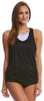 Beach House Women's Beach Solids Circuit Double Time Tankini Top 8151239