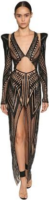 Julien Macdonald Bead Embellished Dress