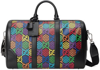 Gucci Psychedelic logo-print holdall