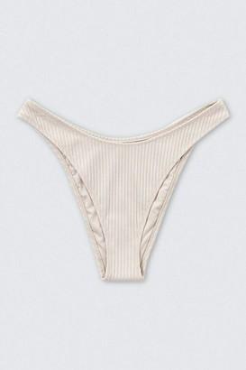 Forever 21 Ribbed High-Leg Bikini Bottoms