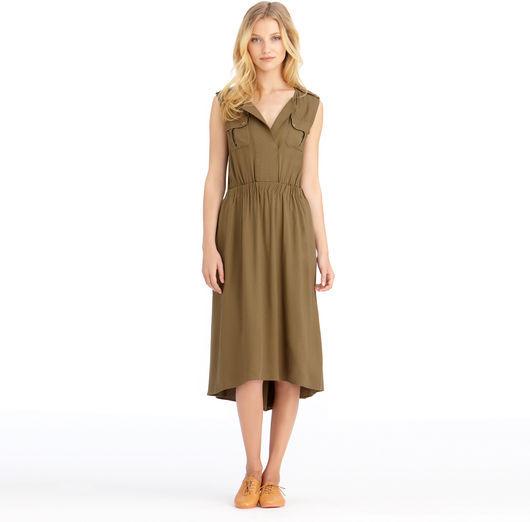 Rachel Roy Army Dress