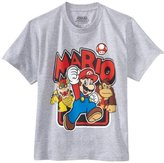 Nintendo Boys 8-20 Super Mario Short Sleeve Tee