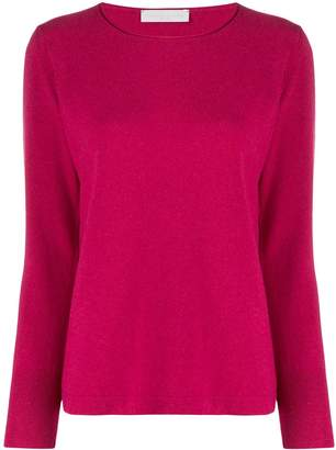 Fabiana Filippi round neck slim-fit jumper