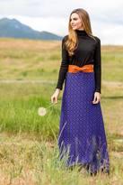Shabby Apple Karin Skirt Patterned Blue