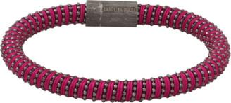 Carolina Bucci Magenta Twister Band Bracelet