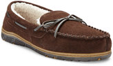 Rockport Men's Faux Fur Lined Moccasin Slippers