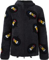 Fendi all-over hooded jacket