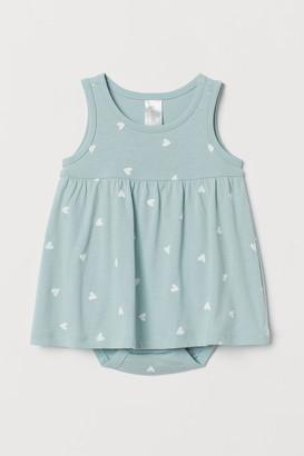 H&M Dress with Bodysuit