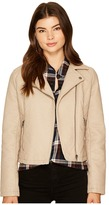 BB Dakota Willis Heavy Rippled PU Moto Jacket Women's Coat