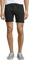 Wesc Rai Rolled-Cuff Shorts, Black