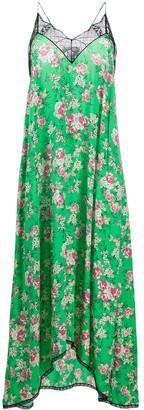 Zadig & Voltaire Floral-Print Maxi Slip Dress