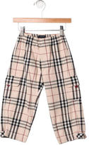 Burberry Boys' Nova Check Cargo Pants