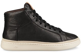 UGG Cali Leather High-Top Sneakers