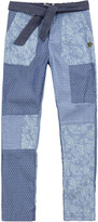 Scotch & Soda Patchwork print trousers