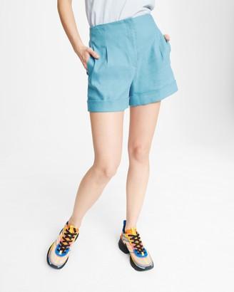 Rag & Bone Jess linen short