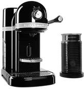 KitchenAid Nespresso Onyx Black by with Aeroccino3 black