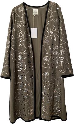 Stella Forest Khaki Cotton Coats