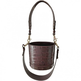 CHYLAK Burgundy Leather Handbags