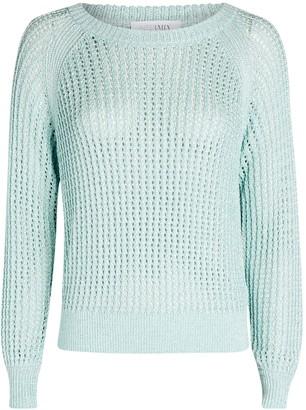 Intermix Maria Open Knit Sweater