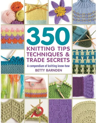 Search Press 350 Knitting Tips, Techniques & Trade Secrets Book