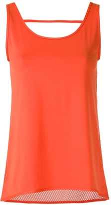 Track & Field Cut Out Detail Tank Top