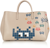 Anya Hindmarch Space Invaders Ebury Maxi leather tote