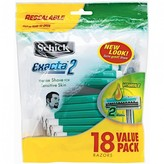 Schick Exacta 2 Sensitive Disposable Razors 18 pack