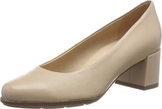 Geox Women's New Annya Mid-Heel Clasic Leather Shoe
