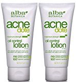 Alba Natural AcneDote Oil Control Lotion, Maximum Strength 2 Oz (Pack of 2)