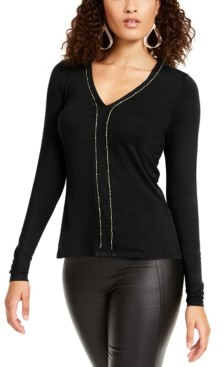 Thalia Sodi Chain-Trim Top, Created for Macy's