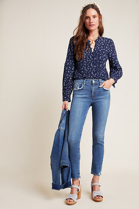 AGOLDE Toni High-Rise Slim Straight Jeans By in Blue Size 25