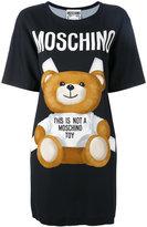 Moschino paper toy bear T-shirt dress - women - Viscose/Other fibres - 40
