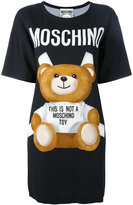 Moschino paper toy bear T-shirt dress - women - Viscose/Other fibres - 42