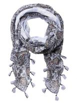Jeanswest Anna Scarf-Dusky Blue Multi-00