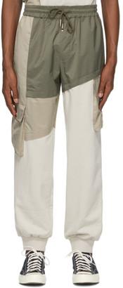 Feng Chen Wang Multicolor Paneled Lounge Pants