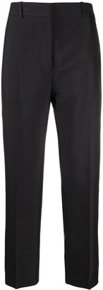 Jil Sander Pleated Cropped Trousers