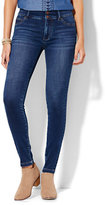 New York & Co. Soho Jeans - High-Waist SuperStretch Legging - Polished Blue Wash - Tall
