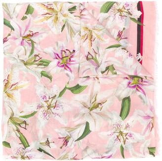 Dolce & Gabbana Floral Lightweight Scarf