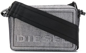Diesel denim Boxy cross-body
