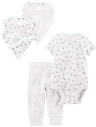 Carter's Simple Joys by Baby 4-Piece Neutral Bodysuit