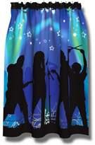 Borders Unlimited ROCK STAR kids music TEEN Idol SHOWER CURTAIN bath NEW