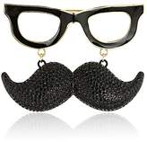Kate Spade Mustache Brooch Black/Multi-Colored Brooches and Pin