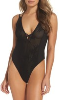 Free People Women's Intimately Fp Kisses On My Cheeks Thong Bodysuit