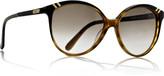 Belladone cat-eye-frame acetate sunglasses