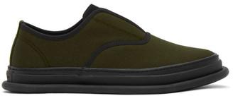 Issey Miyake Khaki Amembo Sneakers